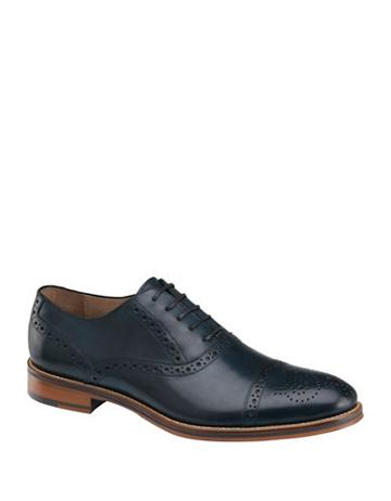 Johnston & Murphy Conrad Leather Lace-up Oxfords