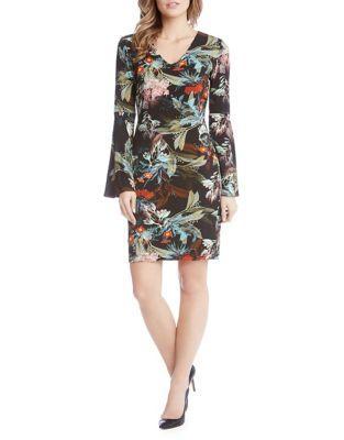 Karen Kane Wispy Floral Dress