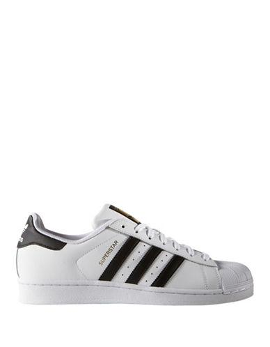 Adidas Superstar Round-toe Leather Sneakers