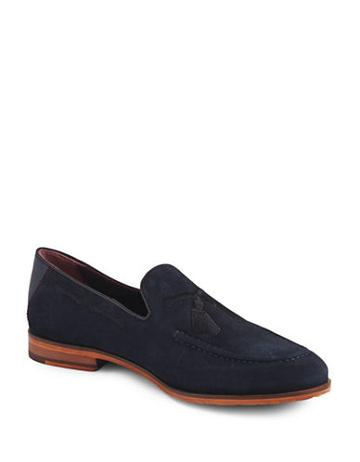 Ted Baker London Cannan Suede Tassel Loafers