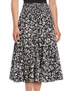 Context Floral Peasant Skirt