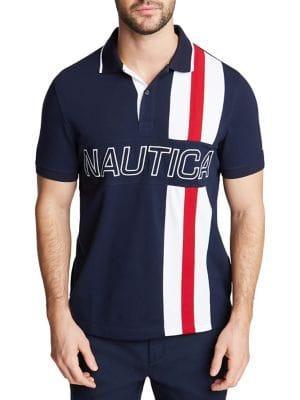 Nautica Racer Striped Polo Shirt