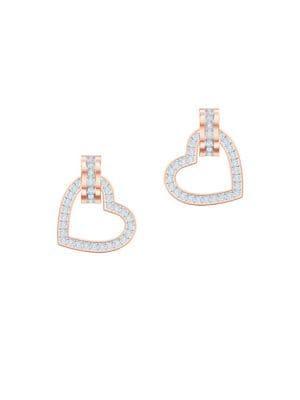 Lovely Swarovski Crystal Drop Earrings