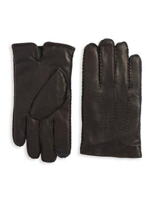 Polo Ralph Lauren Classic Cashmere-lined Leather Gloves
