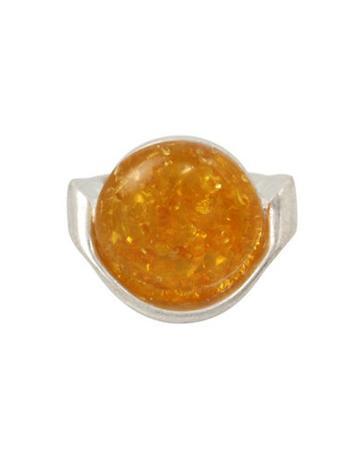 Robert Lee Morris Color Wheel Amber Ring