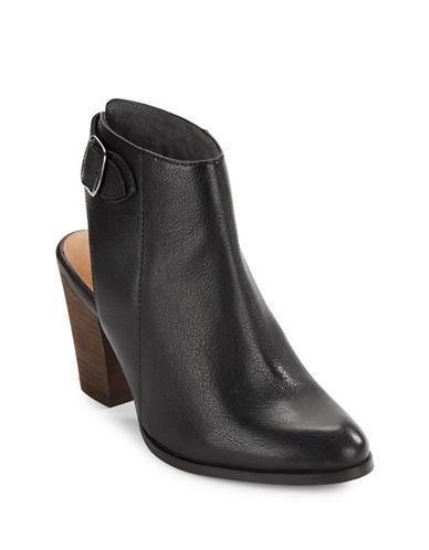 Seychelles Caravan Leather Backless Ankle Boot