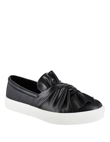 Mia Zoe Faux Leather Platform Sneakers