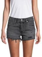 Levi's 501 Distressed Denim Shorts