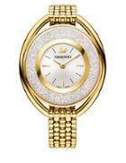 Swarovski Crystalline Goldtone Stainless Steel Bracelet Watch, 5200339