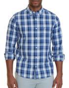 Nautica Plaid Cotton Shirt