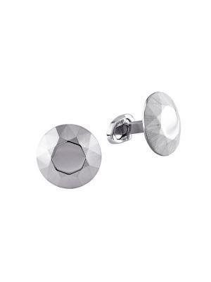 Sonatina Stainless Steel Domed Cufflinks