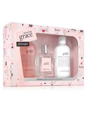 Philosophy Limited-edition Amazing Grace Three-piece Holiday Set