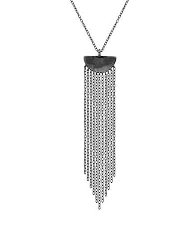 Lord & Taylor Fringe Pendant Necklace