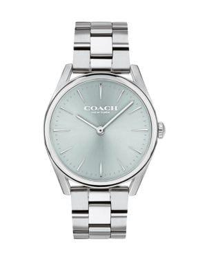 Coach Preston Stainless Steel Bracelet Watch