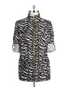 Calvin Klein Linen Anorak Jacket