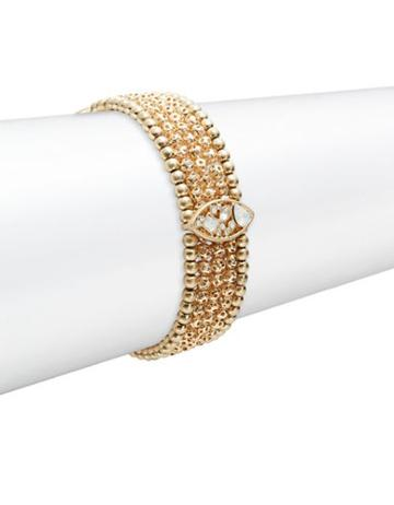Nanette Lepore Stone Accented Stretch Bracelet