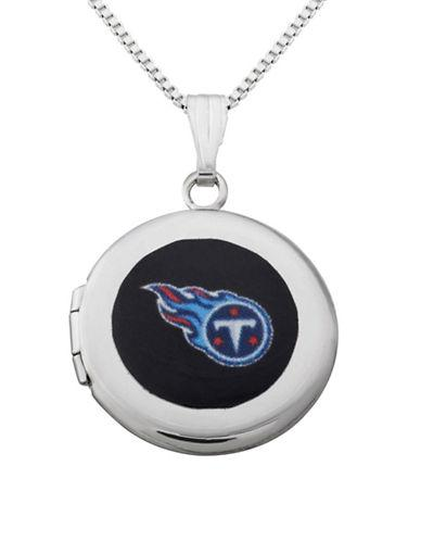 Dolan Bullock Nfl Tennessee Titans Sterling Silver Locket Necklace