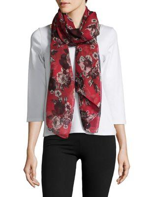 Lord & Taylor Floral Scarf