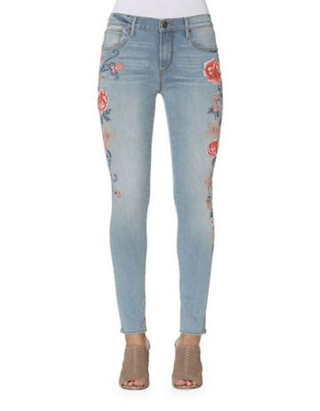 Driftwood Jackie Side Embroidered Jeans