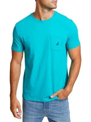 Nautica Pocket Crewneck T-shirt