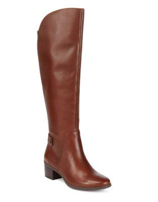 Anne Klein Jela Knee-high Leather Boots