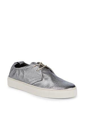 The Flexx Sneak Up Metallic Low-top Sneakers