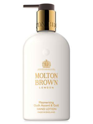 Molton Brown Mesmerizing Oudh Accord And Gold Paraben-free Hand Lotion