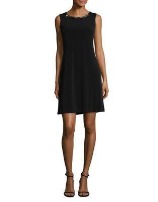 Michael Michael Kors Sleeveless Textured Dress
