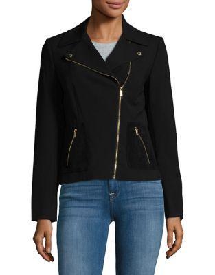 Calvin Klein Zip-front Moto Jacket
