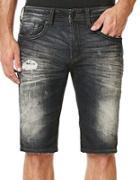 Buffalo David Bitton Parker-x Distressed Denim Shorts