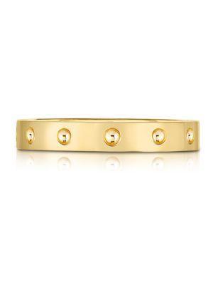 Roberto Coin 18k Yellow Gold Symphony Pois Moi Ring
