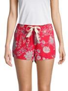 Josie Printed Stretch Shorts