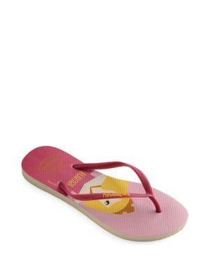 Havaianas Aurora Princess Rubber Flip Flops