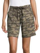 Jag Adeline Camouflage Drawcord Shorts