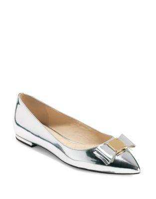 Cole Haan Tali Bow Skimmer Leather Flats