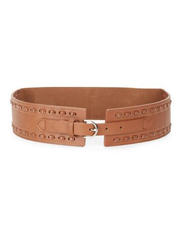 Fashion Focus Stretch Faux Leather Belt