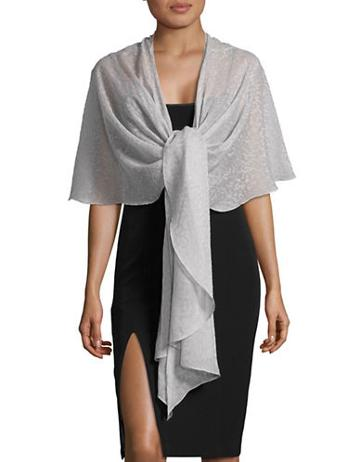 Eliza J Burnout Asymmetric-hem Wrap