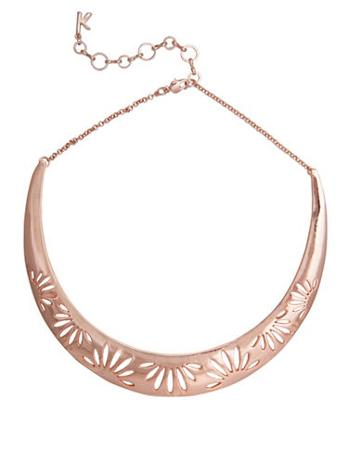 Kensie Cutout Collar Necklace