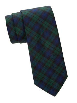 Brooks Brothers Tartan Plaid Silk Tie