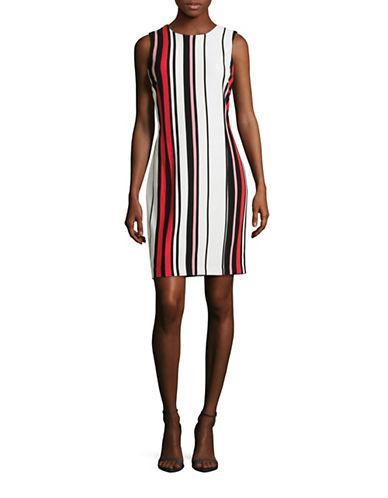 Tommy Hilfiger Striped Sleeveless Dress