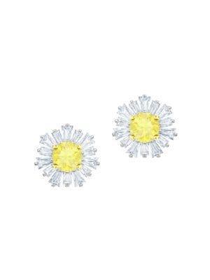 Sunshine Swarovski Crystal Stud Earrings