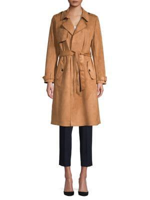 Philosophy Apparel Belted Trenchcoat