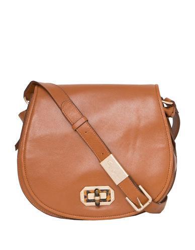 Foley & Corinna Whitney Leather Saddle Bag