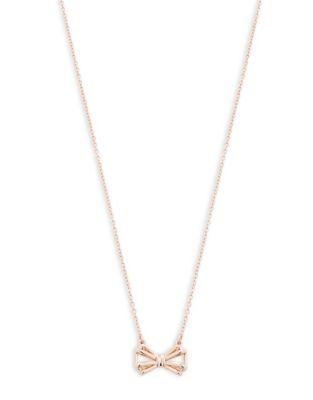 Ted Baker London Signy Sweetie Bow Pendant Necklace