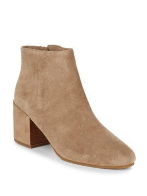 Gentle Souls By Kenneth Cole Blaise Suede Ankle Boots