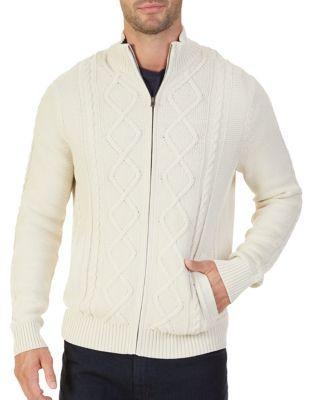 Nautica Cable-knit Cotton Sweater