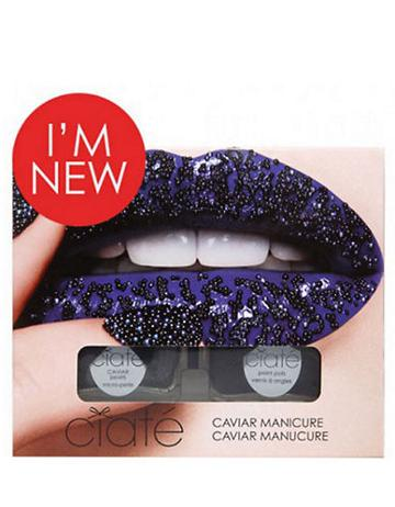Ciate Caviar Manicure Set - Black Pearls