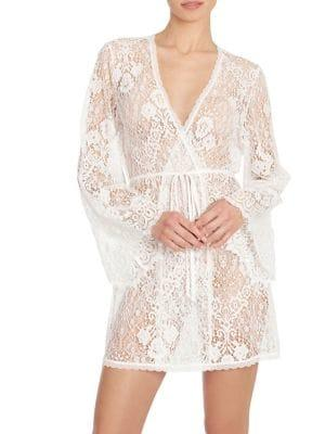 In Bloom Addicted To Love Bell-sleeve Lace Wrap