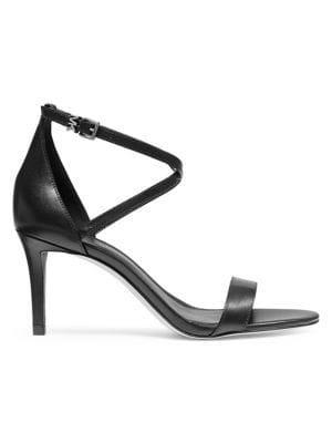 Michael Michael Kors Ava Leather Dress Sandals