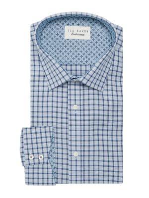 Ted Baker London Endurance Check Oxford Dress Shirt